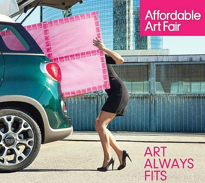 The Affordable Art fair, Hampstead 2017